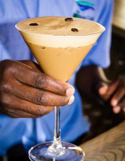 Menu - cocktails and mocktails