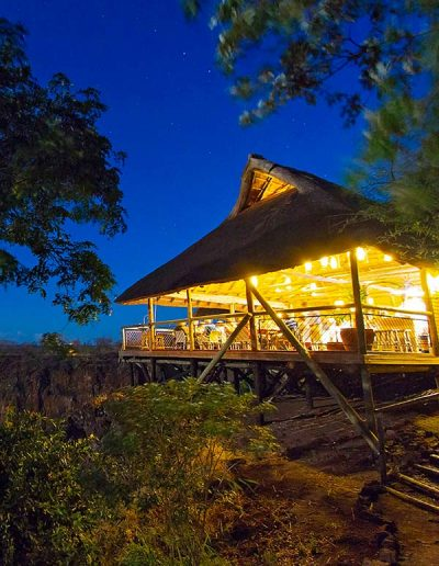 The Lookout Cafe in Victoria Falls